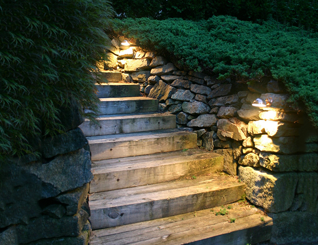 Wall Lights Two Ways To Illuminate Your Garden Stone Walls