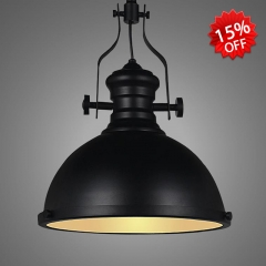Industrial Style Oiled Black 1 Light 12