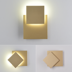 Contemporary 8W LED Adjustable Mini Wall Lamp in Modern Style