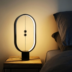 Modern Chic Design LED Bedside Table Lamp with Magnetic Switch, 3000K