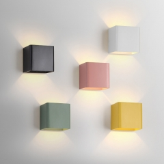 Northern Lighting LED Up and Down Macaron Wall Sconce for Hallway or Bedside Lighting