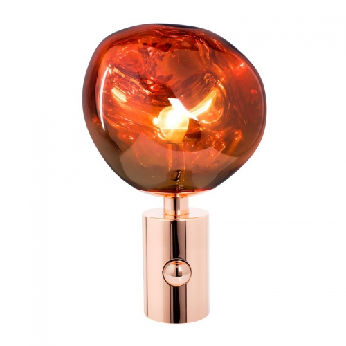 Modern Design Red Table Lamp 1 Light PVC Table Lamp