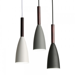 Modern Style Mayes Minimalist Dome Shade Pendant Light for Coffee Shop, Bar and Kitchen Island