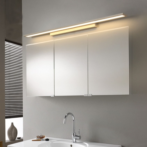 Minimalist Style Linear LED Vanity Light in White Energy Saving Bathroom  Vanity Light,LED LIGHTS