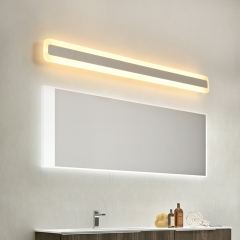 Contemporary Style LED Bathroom Vanity Light  Water and Fog Resistant