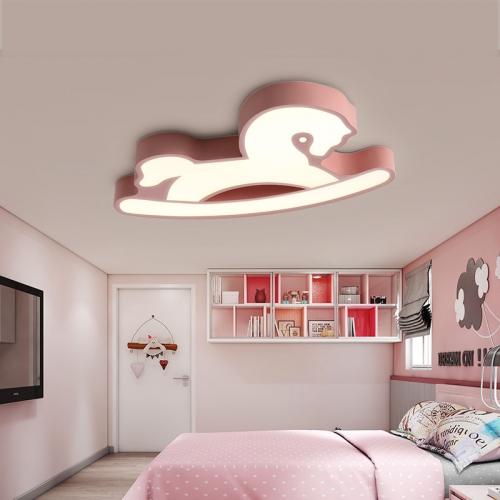 Modern Playroom Light Hobbyhourse Flush Mount Ceiling For Baby Boys And Girls Room,LED LIGHTS