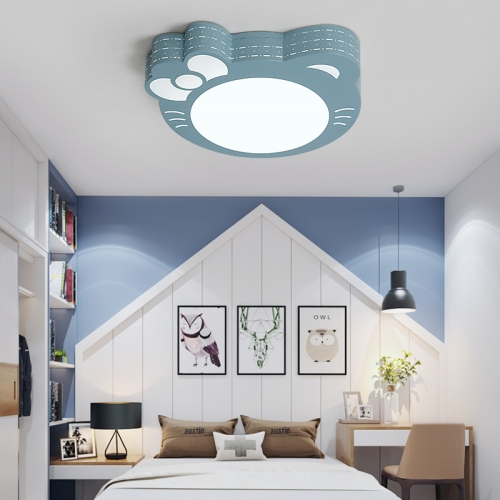 Modern Led Lighting Kitty Flush Mount Ceiling Light For Bay Nursery Room S