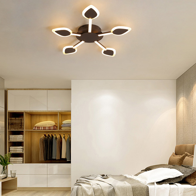 Modern Style Led 3 5 7 Light Sputnik Semi Flush Mount