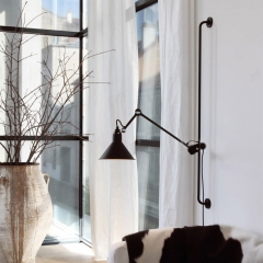 Nordic Industrial Style 1 Light Wall Sconce Chic Wall Decoration for Living Room Bedroom