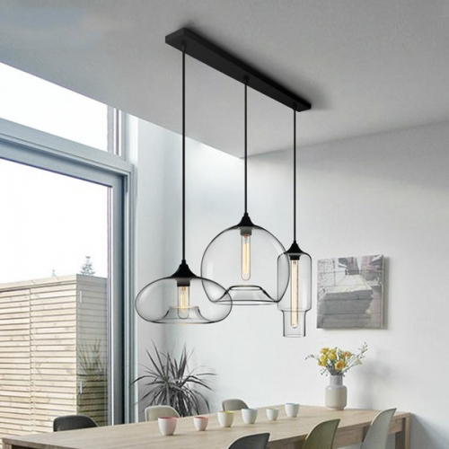 Modern Style 3 Light Pendant With