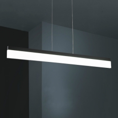 Modern LED Linear Hanging Pendant for Kitchen Island Office Lighting
