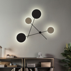Modern Chic Designer LED Wall Sconce in Matte Black