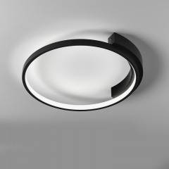Modern Minimalist Circle LED Ceiling Lamp for Bedroom Living Room