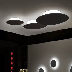 Minimalist LED Round Ceiling Light Wall Sonce for Bedroom Showroom
