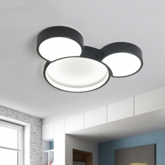Mickey Mouse LED Ceiling Light Dimmable for Kids' Room Holiday Present Gift