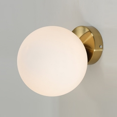 Modern Design 1-Light Aim Wall Sconce Brass Ceiling & Wall Mounted Lamp