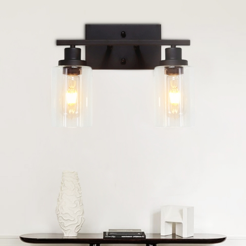 Modern Contemporary 2 Lights Wall Sconce for Living Room/Kitchen