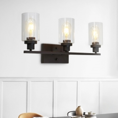 Mid-century Modern 3-Light wall sconces for Entryway/Kitchen/Bathroom